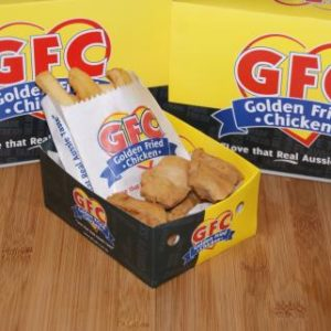 GFC Chicken Bites and Chips